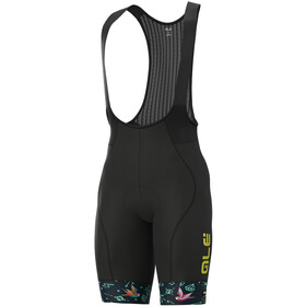 Alé Cycling Graphics PRR Versilia Bib Shorts Heren, blue